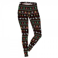 6e5930e52b801f New Arrival Christmas Printed Women Legging - Mix Colors | Products |  Pinterest | Leggings, Pants and Christmas leggings
