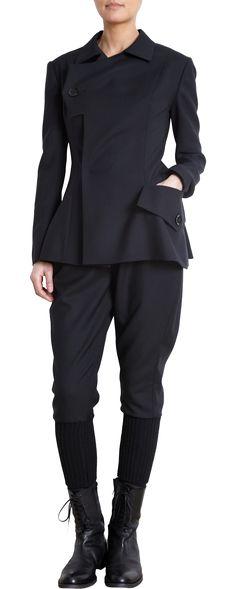 Yohji Yamamoto Asymmetric Jacket