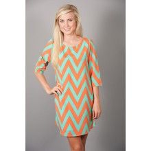 Endless Summer Dress-Cantelope - Add a leather braided belt and some flirty sandals - good to go! :)