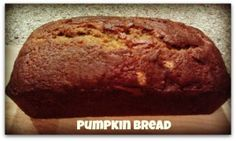 Great Kids Recipes: Pumpkin Bread - Madame Deals, Inc.