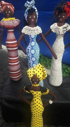 Doll Crafts, Clay Crafts, African Crafts, Fabric Dolls, Pet Toys, Biscuit, Bottle, Black Baby Dolls, African Dolls