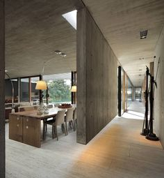 Interior design is the best thing you can do for your home Minimalist Architecture, Interior Architecture, Home Interior Design, Interior Decorating, Industrial Bedroom Design, Concrete Interiors, Concrete Houses, Home Decor Furniture, Modern House Design
