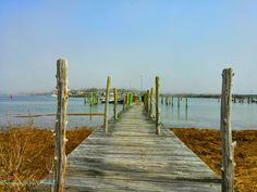the dock next to ours, over looks westport pt.Westport Ma