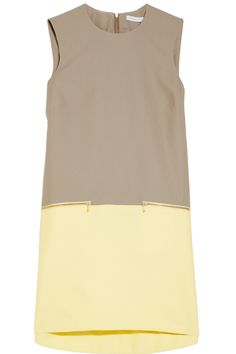 Victoria, Victoria Beckham | Faille shift dress | NET-A-PORTER.COM