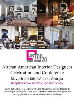 African American Interior Designers Conference #AATOP20 Www.AATOP20.com