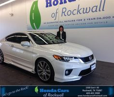 #HappyBirthday to Jill Mazzola from Jim Rutelonis at Honda Cars of Rockwall!