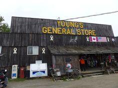 Youngs General Store, Wawa, Ontario Canada