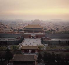 This picture is the Forbidden city in Beijing. this was a huge land where the emperor and his families and other important people. the Qing dynasty also created a really complicated political system.