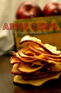 Apple Chip Recipe...absolutely delish!
