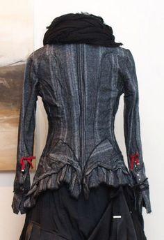stilecht - mode für frauen mit format... - high - Blazer Tweed Rote Schleifen - Winter 2013