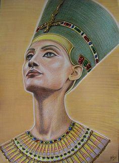 Nefertiti by Victoriya Kot