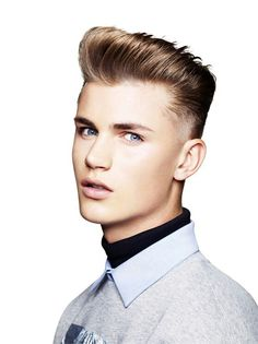 best short haircuts and hairstyles for men as recommended by barbers. From pompadours to quiffs, there's a short haircut for every man Toni And Guy Haircuts, Best Short Haircuts, Haircuts For Men, Tony N Guy, Short Hair Cuts, Short Hair Styles, London Fashion Week 2015, Style Finder, Hair Today