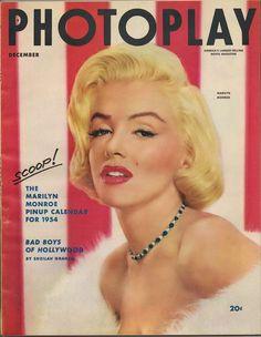 Marilyn Monroe Photoplay magazine, December 1953