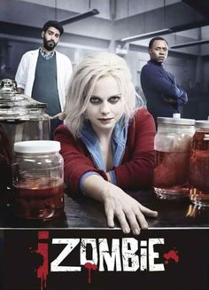 Can't wait!  New iZombie Poster