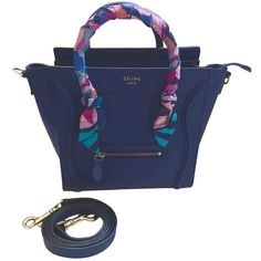 Buy your nano luggage leather crossbody bag Céline on Vestiaire Collective 433f25cb57d66