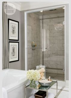 Chic bathroom