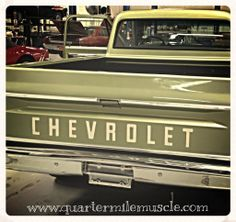 Classic 1970 C 10 Chevy by Quarter Mile Muscle Inc. Classic Truck Restorations. www.quartermilemuscle.com #Chevy #Truck