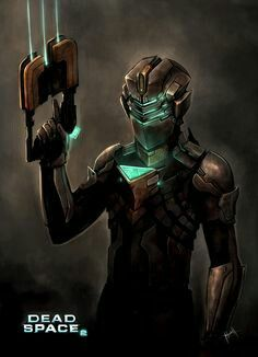 Isaac Clarke by Ninjatic on DeviantArt Dead Space Suits, Video Game Art, Video Games, Heroes United, Sci Fi Armor, Cyberpunk Character, Cool Masks, Best Horrors, Sci Fi Characters