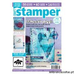 A Craft Stamper é uma das melhores revistas do Reino Unido especializadas em stamping. Todos os meses oferece um mix ecléctico de projectos com carimbos de diversas áreas. Já temos disponível o número de Agosto que inclui passo-a-passo de técnicas e muitos truques para potencializar os seus carimbos! Adquira já a sua revista aqui: http://www.lembrancassoltas.pt/advanced_search_result.php?keywords=Craft+Stamper+-+Agosto+2014
