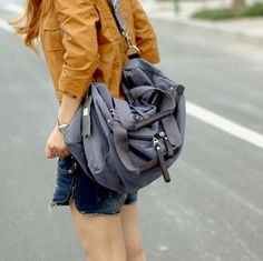 TaoBao Products: 【My.bao] the genuine canvas bag / shoulder bag / Messenger bag handbag leisure package (three-color) - MisterTao.com