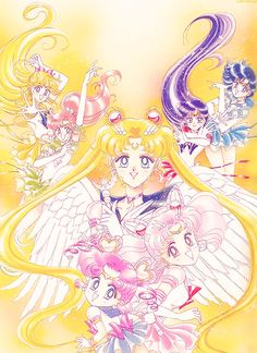 Sailor senshi (inners from stars)