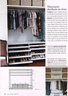 closet aberto sapateira