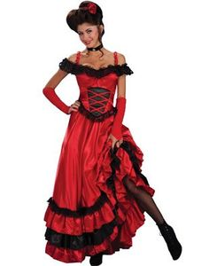 Saloon Girl Sweetheart Adult Costume