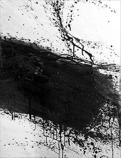"""Revolutionary Road - Solution V"" byJacek Mirczak2012. Acrilic on canvas - 100cm x 130cm Minimal black and white painting  #minimal #black #white"