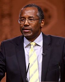 """Benjamin Solomon """"Ben"""" Carson Sr. (born September 18, 1951) is an American author and retired neurosurgeon. ... In 2008 he was awarded the Presidential Medal of Freedom by President George W. Bush. After delivering a widely publicized speech at the 2013 National Prayer Breakfast, he became a popular conservative figure in political media for his views on social and political issues, and becoming close to being a Republican candidate for the 2016 presidential election."""