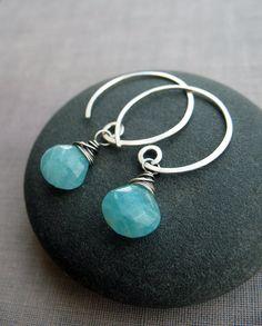 Brenda McGowan Jewelry  https://www.etsy.com/listing/229941170/aqua-amazonite-sterling-silver-spiral