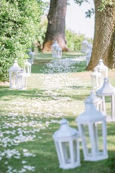 Our gorgeous bride chose a countryside chic theme for her big day and with the help of her best friend, talented FWS vendor Aava Wedding, her dreams became reality. We are just in love with the romantic white petal wedding aisle leading to their outdoor ceremony and all the sweet touches seen throughout these gorgeous images… http://www.frenchweddingstyle.com/chateau-de-castellaras-summer-wedding/