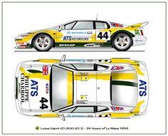 1993 Lotus Esprit GT-300 GT2