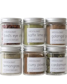 Bring the flavors of Thailand into your pantry with this inspired collection of unique and hand packaged spices. This set makes the perfect gift to any of your