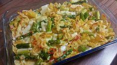 Spargelauflauf mit Nudeln - Rezept von Eat Me Ober Und Unterhitze, Pasta, Zucchini, Cabbage, Vegetables, Food, Youtube, Al Dente, Cold Cuts