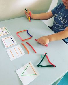 Image - Early Childhood Education - Student On - craftIde . - Image – Early Childhood Education – Student On – craftIde … – student - Motor Skills Activities, Preschool Learning Activities, Infant Activities, Preschool Activities, Kids Learning, Learning Shapes, Fine Motor Skills, Toddler Fine Motor Activities, Handwriting Activities