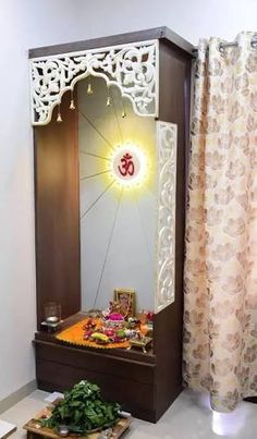 Beautiful Living room design traditional on a budget trendy living room contemporary indian Pooja Room Design, Door Design, Pooja Rooms, Temple Design For Home, House Interior, Room Door Design, Perfect Living Room Decor, House Interior Decor, Pooja Room Door Design