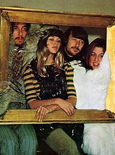 The mamas and the papas~John Phillips, chief songwriter and creative genius behind the group, whose close harmonies and preaching of love and tolerance made them huge stars with lavish fortunes to match.