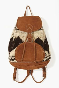 Flores Backpack - Wool