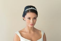 Go retro with a vintage style tiara. Keep it delicate with the gorgeous Ivory and Co. 'Clementine'