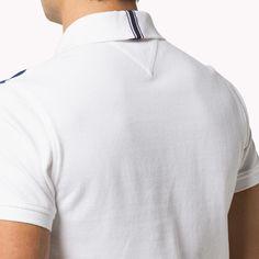 Back collar tape detail Slim Fit Polo Mens Polo T Shirts, Polo Tees, Boys Shirts, Cut Up Shirts, Mens Tees, Casual Shirts, Polo Shirt Design, Polo Design, Men Design
