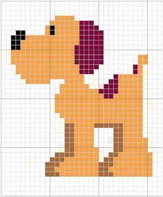 Loula - Pocoyo perler bead pattern Cross Stitch For Kids, Mini Cross Stitch, Cross Stitch Animals, Cross Stitch Embroidery, Cross Stitch Patterns, Loom Beading, Beading Patterns, Modele Pixel Art, Lego Mosaic