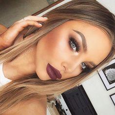 Brookelle McKenzie @bybrookelle Bold Lips and Bro...Instagram photo   Websta (Webstagram)