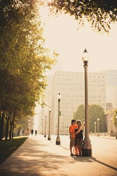 Darius & Jenna's Chicago Engagment Session. Classic Chicago!!  Photos by www.photographybybritton/com