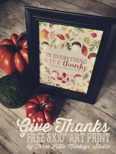 30 Free Thanksgiving Printables