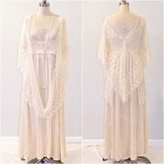 1920s Wedding Dress Beaded Silk & Net Lace by daisyandstella, $2000.00