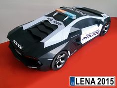 Check out this sexy Lamborghini Aventador Interceptor DIY papercraft model built by Mchal Cejka of Czech Republic! You too can build one at http://visualspicer.com/store/lamborghini-aventador-paper-super-craft/