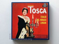 The Styrous® Viewfinder: 101 Reel-to-Reel Tapes 108: Renata Tebaldi ~ Tosca