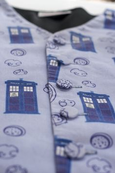 Dr. Who Galifreyan fabric from Spoonflower