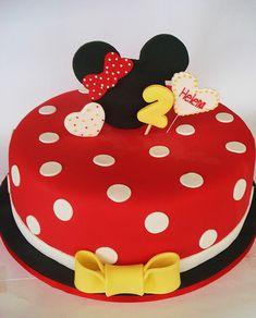 Minnie/Mickey Mouse Cake