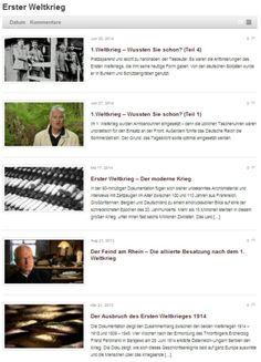 Wir zeigen euch auf Dokuwelten.de die besten Dokumentationen zu den Themen  Geschichte, Natur oder Wissenschaft.  Genießt eine breite Palette voller spannender Dokumentationen und erlebt den Komfort  täglich online die spannendsten Momente der Menschheit zu verfolgen.  Schaut vorbei.   http://www.dokuwelten.de